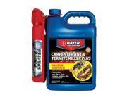 Bayer BAY700335A Bayer Advanced Carpenter Ant & Termite Killer Plus Ready-to-Use Power Sprayer, 1.3-Gallons