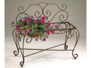 2 Pot 33 In. L x 15 In. D x 29 In. H Bench Planter D68 BE203