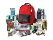 Ready America 70385 Grab 'N Go Deluxe 3-Day, 4 Person Emergency Kit with Backpack