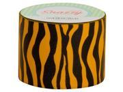 DSS DISTRIBUTING MAV4726 SNAZZY TAPE BLACK & ORANGE ZEBRA