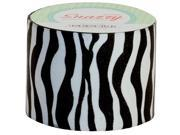 DSS DISTRIBUTING MAV4725 SNAZZY TAPE BLACK & WHITE ZEBRA