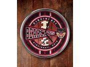 Memory Company MC-COL-CIN-823 Cincinnati Bearcats Chrome Clock