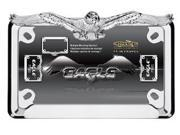 Cruiser Accessories 77023 Motorcycle License Plate Frame Eagle, Chrome