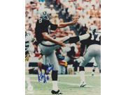 Ray Guy Autographed Oakland Raiders 8X10 Photo 9SIA00Y19A1398