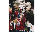 Joe Sakic Autographed Colorado Avalanche 8X10 Photo - 2X Stanley Cup Champion - 2012 Hall Of Famer 9SIV06W2J73359