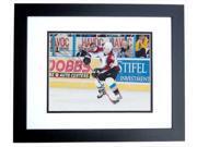 Joe Sakic Autographed Colorado Avalanche 8X10 Photo Black Custom Frame - 2X Stanley Cup Champion - 2012 Hall Of Famer 9SIV06W2J70960