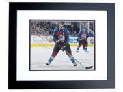 Joe Sakic Autographed Colorado Avalanche 8X10 Photo Black Custom Frame - 2X Stanley Cup Champion - 2012 Hall Of Famer 9SIV06W2J75054