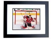 Martin Brodeur Autographed New Jersey Devils 8X10 Photo Black Custom Frame - 3X Stanley Cup Champion 9SIV06W2J75260