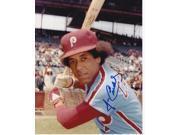 Jose Cardenal Autographed Philadelphia Phillies 8X10 Photo 9SIA1Z053A7161