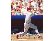 Dale Murphy Autographed Philadelphia Phillies 8X10 Photo 9SIA1Z053A6927