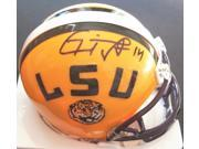 Michael Clayton Autographed Lsu Tigers Mini Helmet - Tampa Bay Bucs 9SIV06W2JA7783