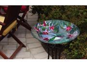 Evergreen Enterprises Hummingbird Beauty, Glass Birdbath - Pack of 3 9SIAD245CX8792