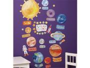 Wallies Wallcoverings 13528 Peel & Stick Wall Play Solar System 9SIA00Y19C4334
