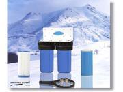 Crystal Quest CQE-WH-01105 Whole House Double 10 in. x 5.0 in. Water Filter System