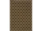 Sphinx by Oriental Weavers 748679323586 Caspian 1.75 ft. x 3.75 ft. Woven Rug Brown and Ivory