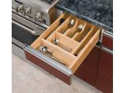 Rev A Shelf Rs4Wct.3Sh 20-.63 In. X 2-.38 In. Wood Cutlery Tray Insert