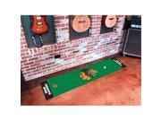 FANMATS 10373 Chicago Blackhawks Putting Green Mat 9SIV16A66Y8301