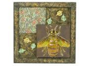 Pinnacle Strategies B80776-4-YGUPS Insect Metal Wall Plaque - Case of 12