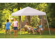 ShelterLogic 22558 10x10 SL Pop-up Canopy, White Cover, Black Roller Bag