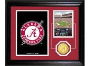 Highland Mint DESK521K University of Alabama Fan Memories Desktop Photo Mint NCAA Alabama Crimson Tide 9SIV06W2J64327