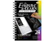 Royal & Langnickel EAB2 Engrave & Learn Fun Travel Book North American Wildlife