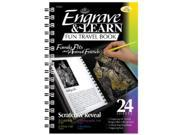 Royal & Langnickel EAB3 Engrave & Learn Fun Travel Book Family Pets & Animal Friends