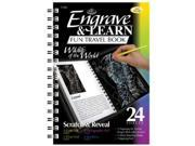 Royal & Langnickel EAB4 Engrave & Learn Fun Travel Book Wildlife of the World