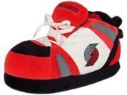 Comfy Feet CF-PTR01SM Portland Trailblazers UNISEX High-Top Slippers - Small