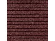 Notrax 161S0023BD Barrier Rib 2ft x 3ft- Burgundy Mat
