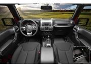 Rugged Ridge 11157.95 Interior Trim Accent Kit, Charcoal, Manual, 11-14 Jeep 4-Door Wrangler