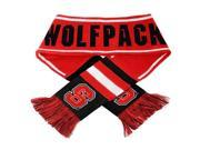 Forever Collectibles CG-SVNC13WMA-NCST North Carolina State Wolfpack NCAA 2013 Team Wordmark Knit Scarf