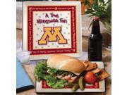 Memory Company MC-COL-MIN-1035 Minnesota True Fan Square Plate