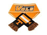 Forever Collectibles CG-SVNC13WMA-TNV Tennessee Volunteers NCAA 2013 Team Wordmark Knit Scarf