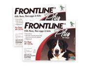 Frontline 891962000005 Dog PLUS RED 89-132LBS 3PK