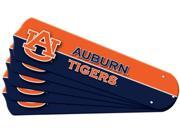 Ceiling Fan Designers 7990-AUB New NCAA AUBURN TIGERS 52 in. Ceiling Fan Blade Set