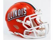 Riddell CD-9585589546 Illinois Mini Replica Helmet