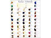 Roylco R4930 Roylco Rocks & Minerals Poster