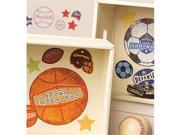 Wallies Wallcoverings 13638 Peel & Stick Vinyl Decals Sports Stamps 9SIV06W2K99155