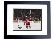 Real Deal Memorabilia MBrodeur8x10-20BF Martin Brodeur Autographed New Jersey Devils 8x10 Photo BLACK CUSTOM FRAME - 3x Stanly Cup Champion 9SIV06W2J61453