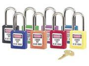 6 Pin Green Safety Lock-Out Padlock Keyed Different/6 Pin Green Safety 9SIA00Y1KM4179