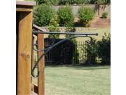 Griffith Creek Designs 1330 Charleston Stark Duty Hanging Basket Bracket for up to 24 in.