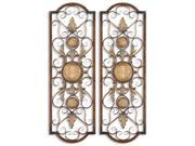 Uttermost 13475 Micayla, Panels, Set of 2 - Metal 9SIV06W2K96947