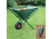 BOSMERE W302 Metal Folding Wheelbarrow