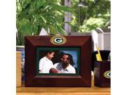 Memory Company MC-NFL-GBP-119 Green Bay Packers BROWN Landscape Picture Frame