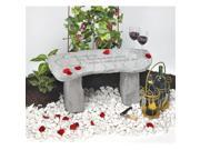 Kay Berry- Inc. 36520 The Romance Of A Thousand Life Times - Memorial Bench - 29 Inches x 12 Inches x 14.5 Inches