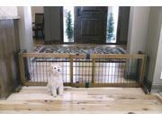 Carlson 2070DS 2-in-1 Wood Freestanding Pet Gate
