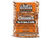 Smokehouse Products 9775-010-0000 All Natural Flavored Wood Smoking Mesquite Chunks, Pack Of 12