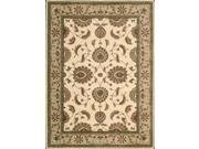 Nourison 62582 Somerset Area Rug Collection Ivory 2 ft x 2 ft 9 in. Rectangle