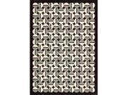 Joseph Abboud 15926 Joab7 Griffith Area Rug Collection Onyx 3 ft 6 in. x 5 ft 6 in. Rectangle
