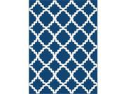 Metro 1037 Navy 5.25 ft. x 7.25 ft. Contemporary Area Rug